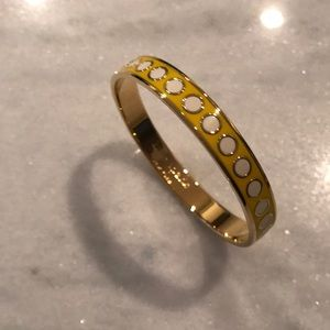 Kate Spade A Shining Light yellow bracelet